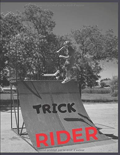Trick Rider: Quaderno Monopattino stunt freestyle - 110 pagine