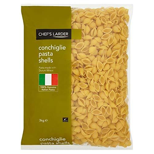 Chefs Speisekammer Conchiglie Pasta Shells - 1 x 3kg