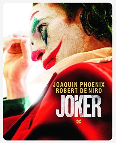 Joker 4K Steelbook, ohne deutschen Ton, 4K UHD Blu-ray + Blu-ray, Uncut, Regionfree, Amazon UK-Exklusiv,