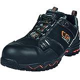 ruNNex 5220–38–Zapatos de seguridad,'LightStar, S2, tamaño: 38, negro/naranja/gris