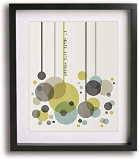Number 41 by Dave Matthews Band inspired song lyric mid century modern art print DMB