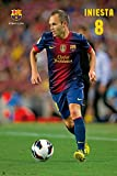 Andres Iniesta Soccer Poster Drucken (60,96 x 91,44 cm)