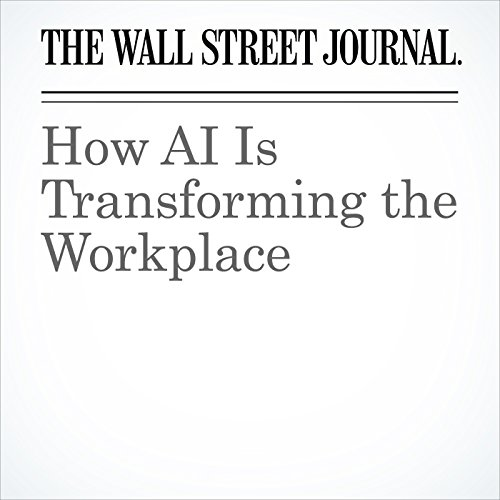 How AI Is Transforming the Workplace copertina