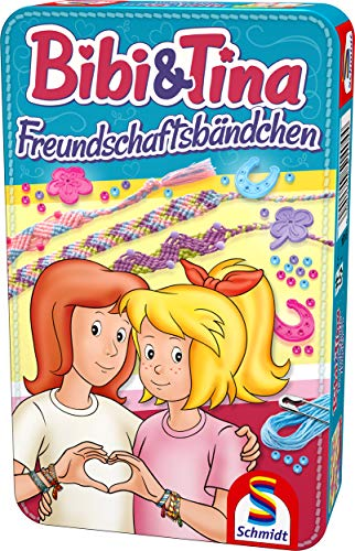 Schmidt Spiele Bibi & Tina 51404 Bibi und Tina, Freundschaftsarmbänder