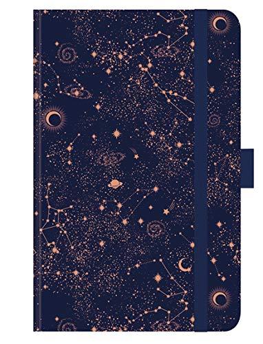 Timer Small 18 Trend Sternenhimmel - 18 Monats Kalender 2021 - Korsch-Verlag - Oktober 2020 bis März 2022 - Taschenkalender A6 mit Kupferprägung - eine Woche auf 1 Seiten - 8,8 cm x 13,8 cm