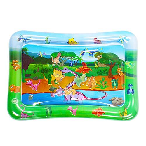 ER-NMBGH Sommer-Wasser-Mat Sicherheitskissen, aufblasbare Matten für Babys Früherziehung Spielzeug