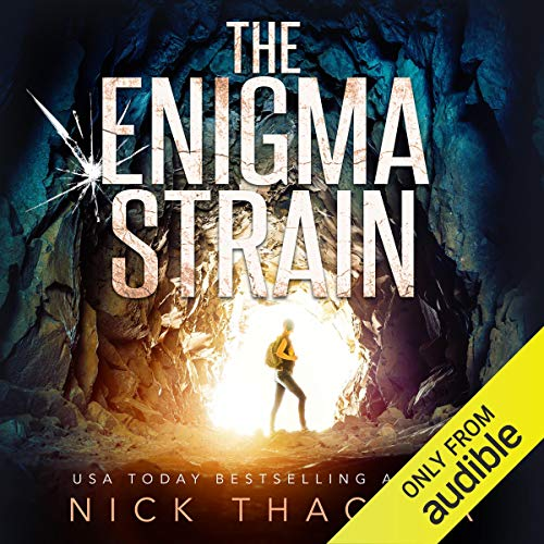 The Enigma Strain audiobook cover art