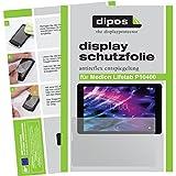 dipos I 2X Schutzfolie matt kompatibel mit Medion Lifetab P10400 Folie Bildschirmschutzfolie