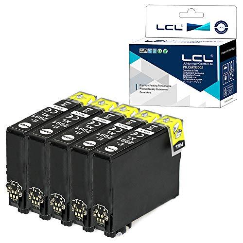 Versión profesional Cartucho de Tinta Compatible LCL 29XL T2991 C13T29914010 (5Pack,Negro) Reemplazo para Epson ExpressionHome XP-235 XP-332 XP-335 XP-432 XP-435 XP-235 XP-342 XP-257 XP-255 XP