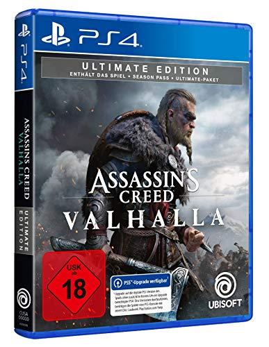 Assassin's Creed Valhalla - Ultimate Edition (kostenloses Upgrade auf PS5) - PlayStation 4 [Importación alemana]