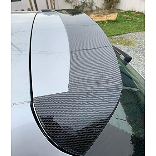 ABS Car Rear Trunk Roof Spoiler Portellone Spoiler Tail Rear Trunk Lip Parabrezza Ala per Seat Ibiza TGI/FR Hatchback 2017 2018 2019, Accessori per la Modifica dell'auto
