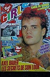 BOYS et GIRLS n° 260 20 au 26 déc. 1984 Axel BAUER - Poster Ghostbusters Ray Parker - Chris de Burgh