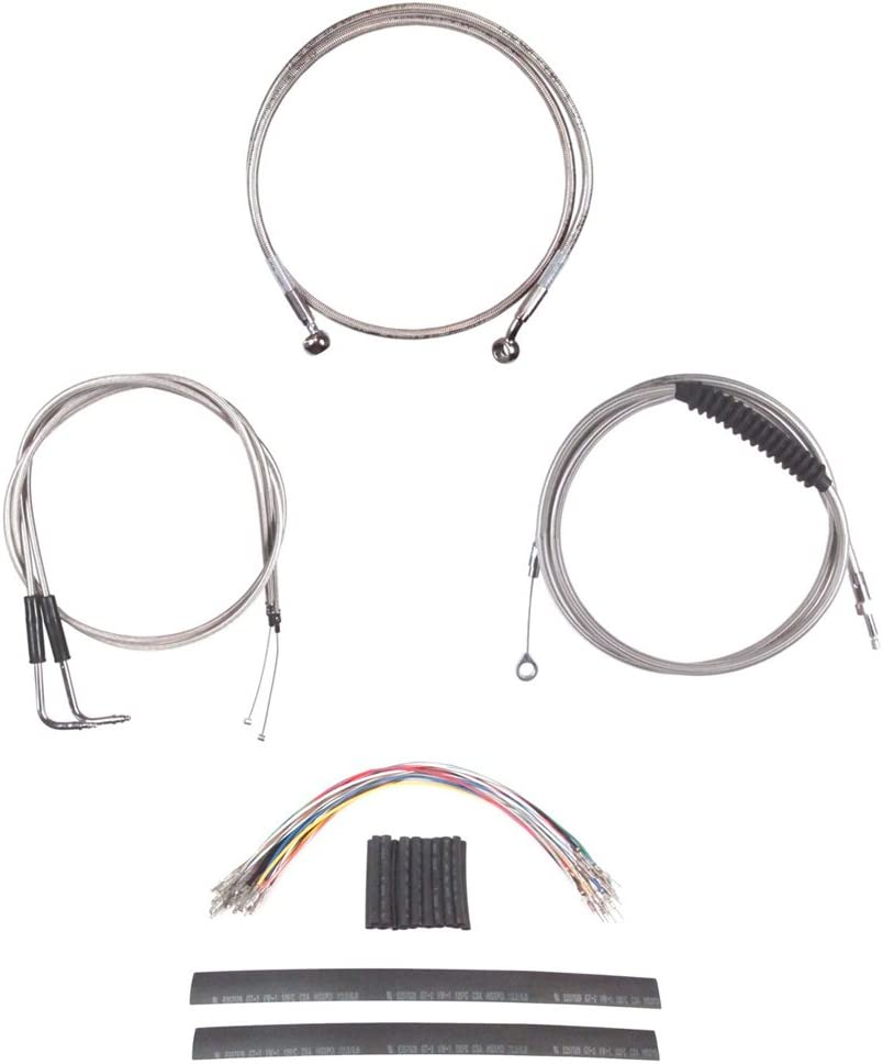 Hill Country Customs Complete Dedication Stainless Kit for Brake Line Cable Bombing free shipping