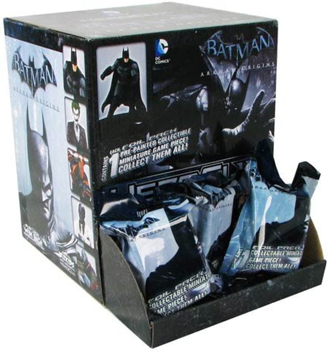 DC HeroClix  Arkham Origins Gravity Feed Display