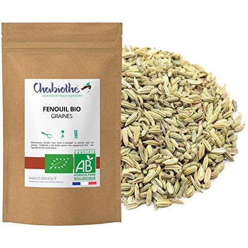 Chabiothé - Fenouil Bio graines 1 kg - tisane allaitement et digestion