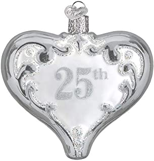 Old World Christmas 25th Anniversary Heart