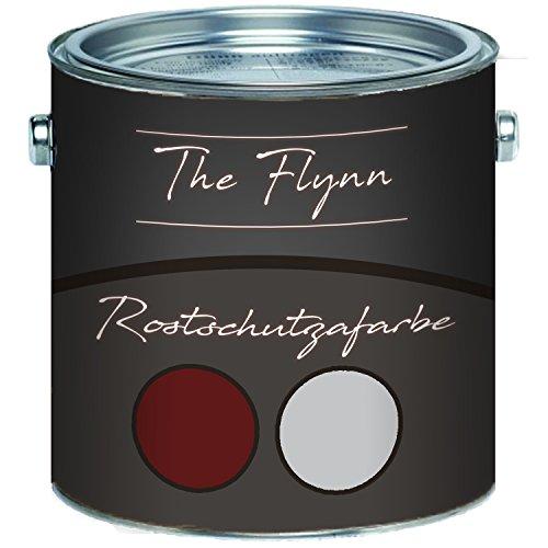 The Flynn Rostschutz-Grundierung ultimativer Schutz vor Rost Korrosionsschutz Wetterbeständig für Metall (1 L, Rotbraun)