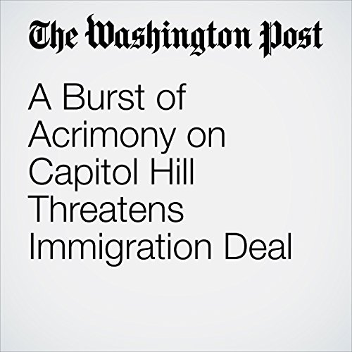 A Burst of Acrimony on Capitol Hill Threatens Immigration Deal copertina