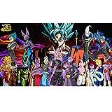 XLST Puzzles De Anime De Dibujos Animados 1000 Piezas Puzzle De Dragon Ball Z De Madera, para Juguetes Educativos para Niños Adultos Juego De Rompecabezas (75 * 50 Cm),5