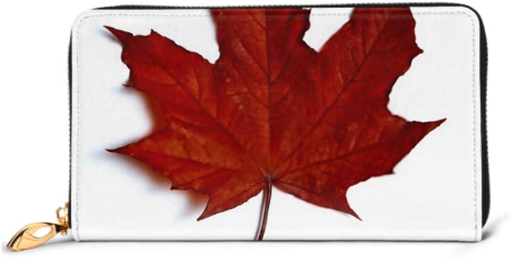 Fashion Handbag Zipper Wallet Maple Purse Even Leaf Ranking TOP16 Clutch Phone Max 48% OFF