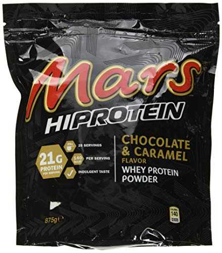 Mars Whey Protein Choc Caramel, 875 g