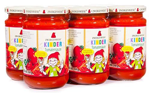 Zwergenwiese Bio Kinder Tomatensauce (6 x 340 ml)