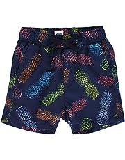 LACOFIA Pantalones Cortos de baño para niños Bañador de Playa con Cintura elástica para niños