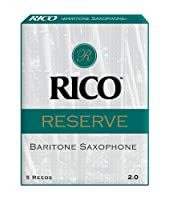 RICO リード レゼルヴ バリトンサクソフォーン 強度:2(5枚入) RLR0520