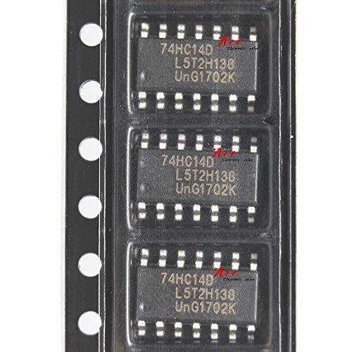 10PCS Logic chip Patch 74HC14 74HC14D SN74HC14DR SOP-14