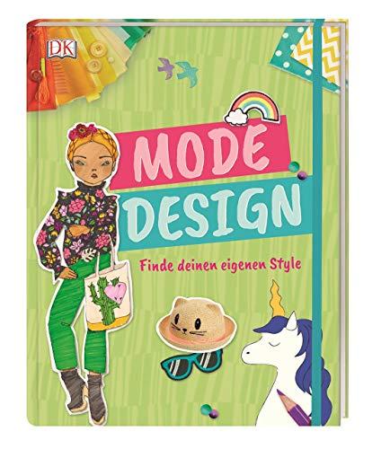 Mode-Design: Finde deinen eigenen Style. Mit Gummiband und Extraseiten zum Zeichnen. Erstelle dein eigenes Lookbook!