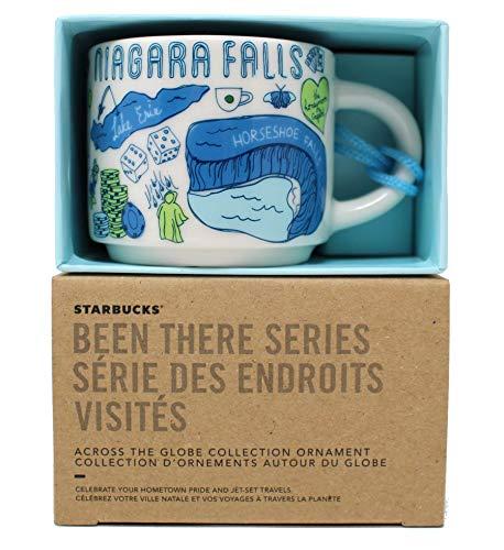 Starbucks Niagara Falls Been There Collection Ceramic Coffee Demitasse Ornament 2 Oz