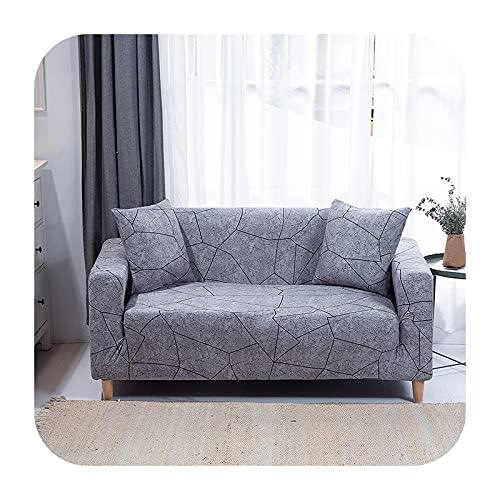 Funda elástica para sofá para sala de estar, antideslizante, elástica, funda de sofá seccional, en forma de L, funda para sillón de esquina de 1/2/3/4 plazas, 26-1 asiento, 90-140 cm
