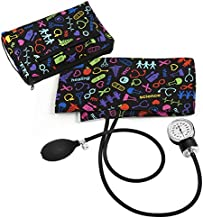 Prestige Medical Premium Aneroid Sphygmomanometer with Carry Case, Medical Symbols Black
