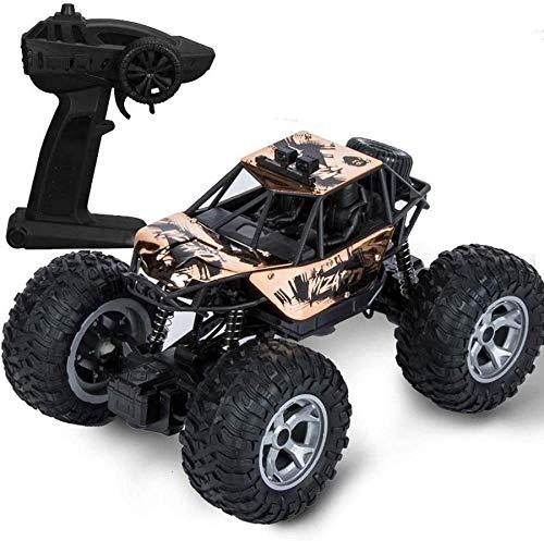 Deportes al aire libre 4x4 Big Foot Control remoto Camión Aleación Robusto...