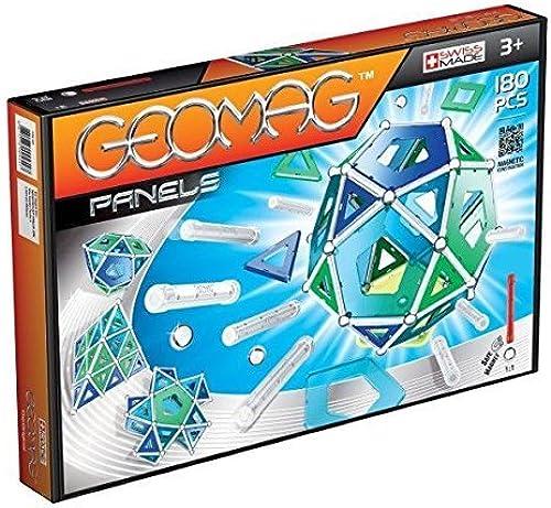 muchas concesiones Geomag, 180 Piece Construction Set, Assorted Assorted Assorted Panels by Geomag  ahorrar en el despacho