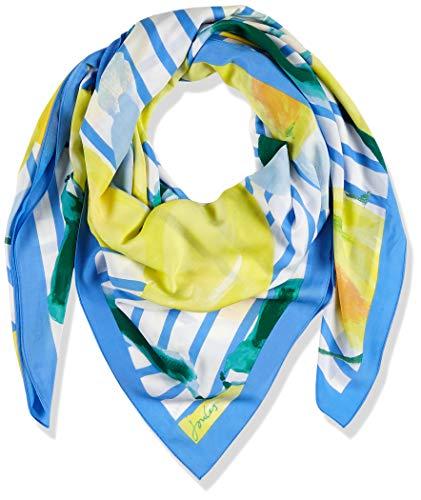 Joules Damen Rowen Mütze, Schal & Handschuh-Set, Blau (Lemon Tree Stripe Lemonstrp), Size (Herstellergröße: One)