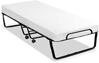 Portable Folding Bed Foldable Guest Hotel Beds Single Mattress Outdoor Camping