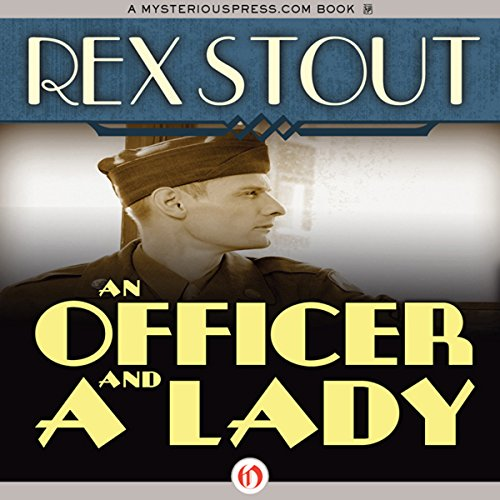 An Officer and a Lady audiobook cover art