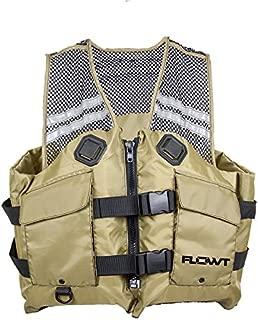 Flowt Fishing Comfort Mesh Life Vest - USCG approved Type III PFD