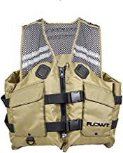 Flowt Fishing Comfort Mesh Life Vest - USCG approved Type III PFD