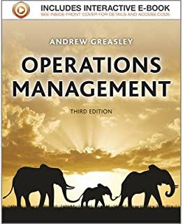 [Operations Management] [Author: Greasley, Andrew] [April, 2013]