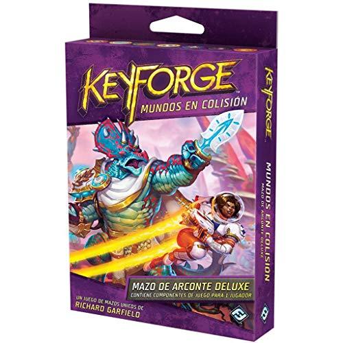 Fantasy Flight Games- Keyforge - Mundos en Colisión Mazo de Arconte Deluxe, Color (KF06ES)