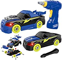 2 in 1 Construction - Build Your Own Car Toy