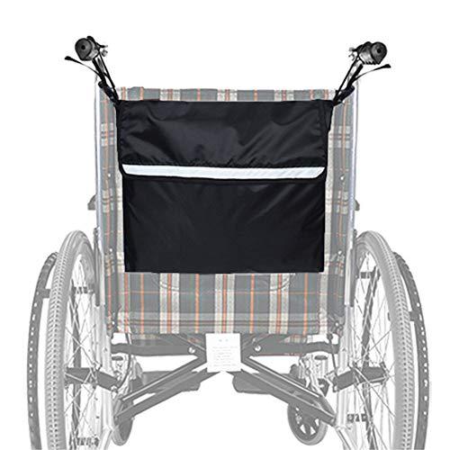 SXFYGYQ Bolsa para Silla De Ruedas, Accesorio De Almacenamiento para Silla De Ruedas para Llevar Artículos Y Accesorios Sueltos, Mochila De Mensajero De Viaje para Discapacitados, Ancianos