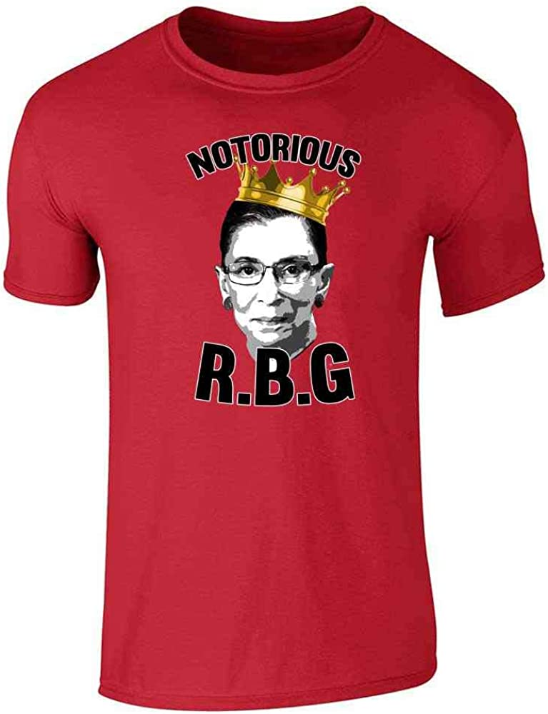 Notorious R.B.G. RBG Supreme Court Political Red 3XL Graphic Tee T-Shirt for Men