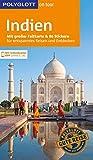 POLYGLOTT on tour Reiseführer Indien: Mit großer Faltkarte und 80 Stickern - Wolfgang Rössig