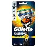 Gillette Fusion 5 Proglide Power Lames de rasoir Homme + 1 Lame de Recharges [OFFICIEL]