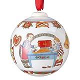 Hutschenreuther 02252-722972-27940 Porzellanweihnachtskugel 'Weihnachtsbäckerei' 2011 im...