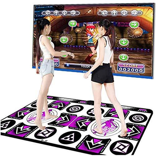 LIULAOHAN Dance Mat, Non-Slip Dancer Step Pads Sense Game, Equipped...