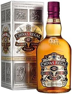 Chivas Regal Premium Scotch Whisky 12 Years Old, 40% Vol.Alk, Schottland - 0.7L - 6x